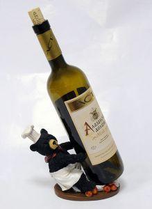 Подставка для вина «Медведь-повар»