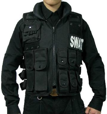 Мотожилет тактический SWAT FBI POLICE