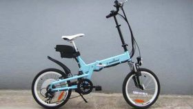 Электровелосипед E-motions Fly (Флай) 750 w 48В, 13Ач, 20 дюймов складной (в 5-ти цветах)