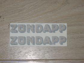 Наклейки Zundapp