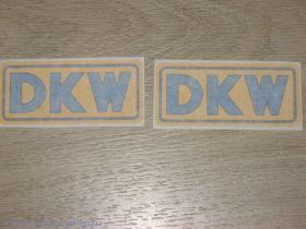 Наклейки DKW бол