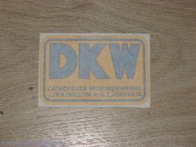 Наклейка DKW