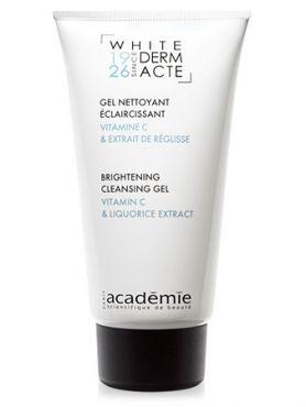 Academie White Derm Acte Осветляющий очищающий гель
