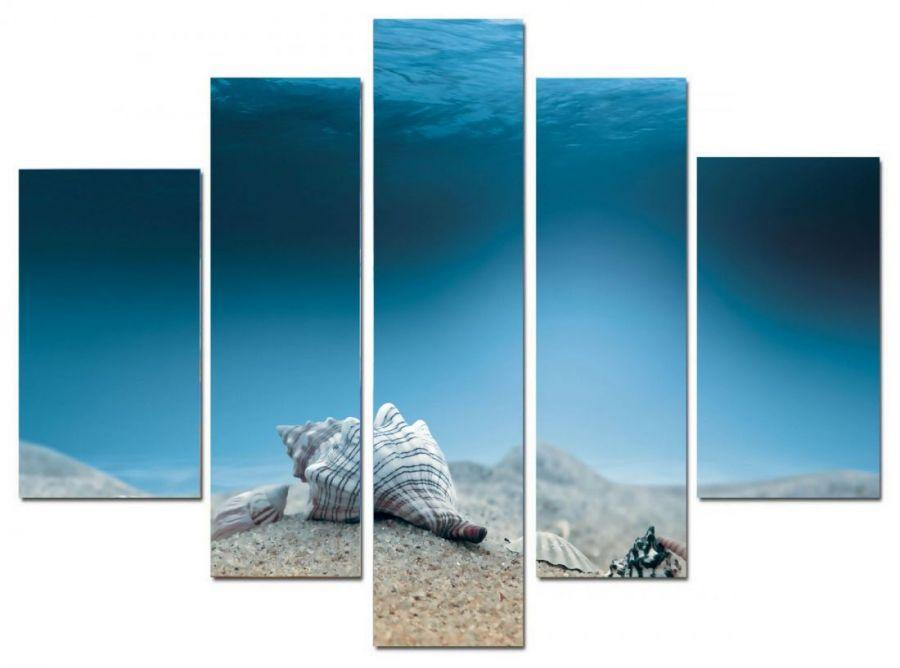 Модульная картина Морское дно