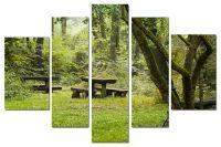 Модульная картина Парк| Магазин модульных картин