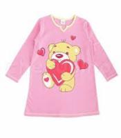 Ночная сорочка розового цвета