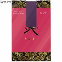 Цветные колготки, цвет фиолетовый, 60 den