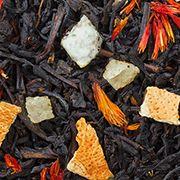 Чай Великого императора - смесь китайского и цейлонского черного чая с натуральными растительными добавками.