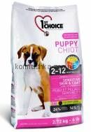 1st Choice Puppy для щенков ягненок+рыба+рис
