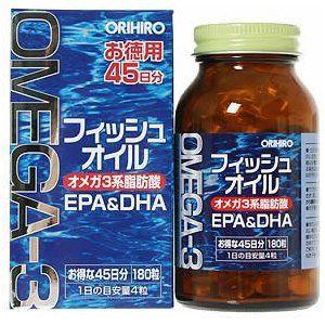 Омега-3 (EPA+DHA) на 45 дней, Orihiro