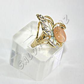 Кольцо - бабочка КО-062