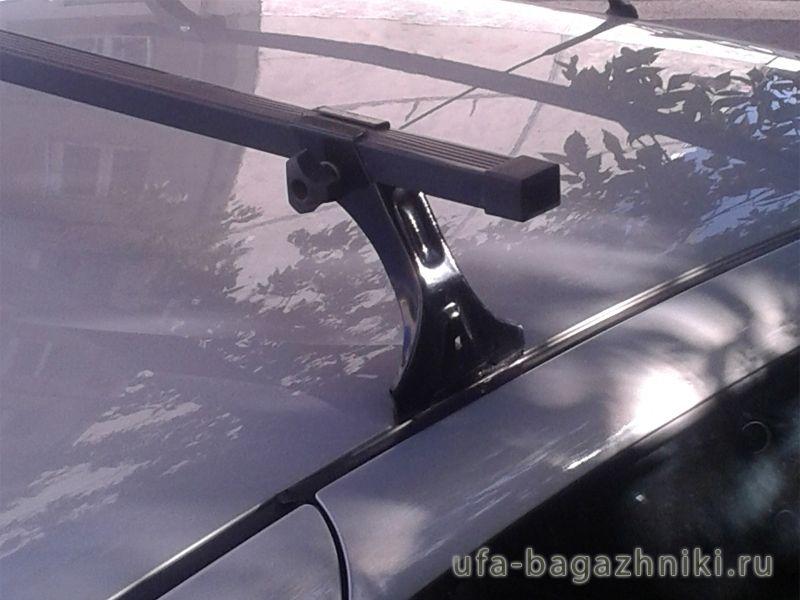 Багажник на крышу Лада Калина, Евродеталь, стальные дуги