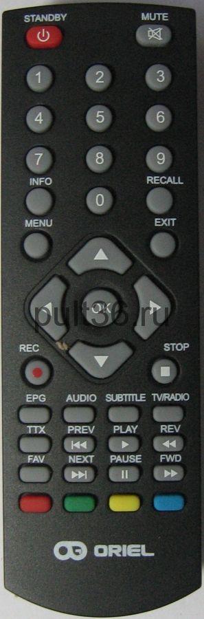 Пульт для Oriel DVB-T2 ПДУ-9