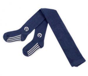 Темно-синие колготки для мальчика Крокид