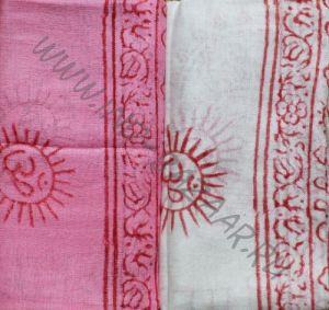 Индийский хлопковый шарф
