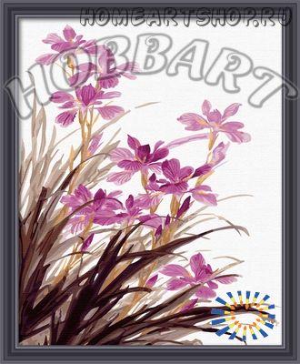 "Картина по номерам ""Сиреневые орхидеи"""