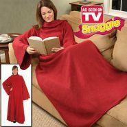 Одеяло-плед - халат с рукавами Cuddle Blanket Plus (Куддле Бланкет Плюс)