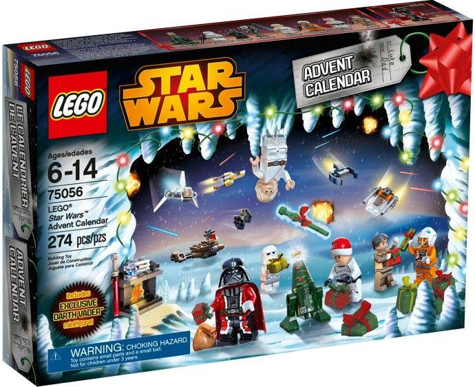 Рождественский календарь Звёздные войны 2014. Конструктор ЛЕГО 75056