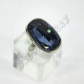Кольцо с кристаллом КО-094