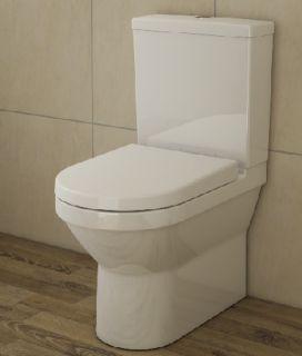 Пристенный напольный унитаз  S50 Vitra с сиденьем