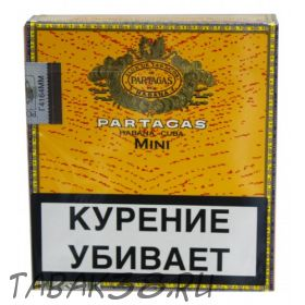 Сигариллы Partagas Mini 20шт (Куба)