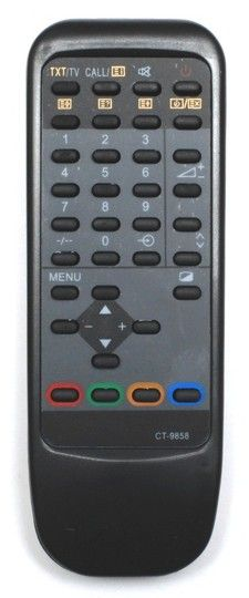 Пульт для Toshiba CT-9858 (TV) (21D7XRT, 21G3XR, 21N3XM, 21N3XR, 21N3XRT, 29D7XRT, 29G3XR, 29G5DR, 29G5DRT)