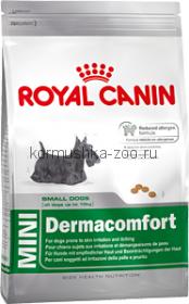 Royal Canin MINI Dermacomfort для собак с чувствит. кожей