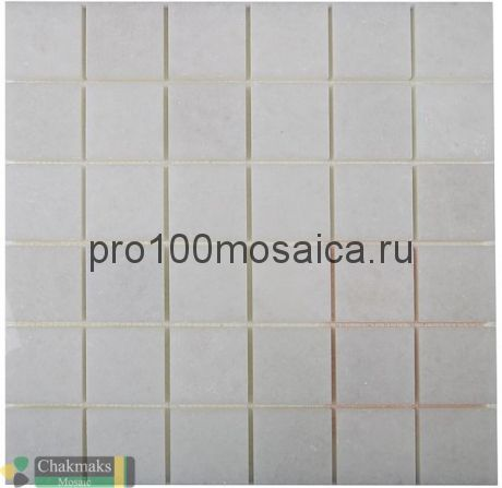 BIANCO NEVE 50х50. Мозаика Anatolian Stone, 318*318 мм (CHAKMAKS)