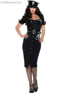 Сексуальный костюм леди полицейской