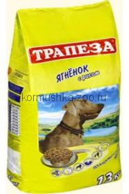Трапеза Ягненок с рисом для собак