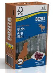 Bozita для собак Кусочки в желе с мясом Лося