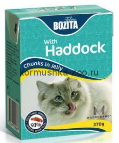 Bozita Tetra Pak для кошек с морской рыбой в желе