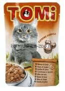 TOMI для кошек гусь с печенью