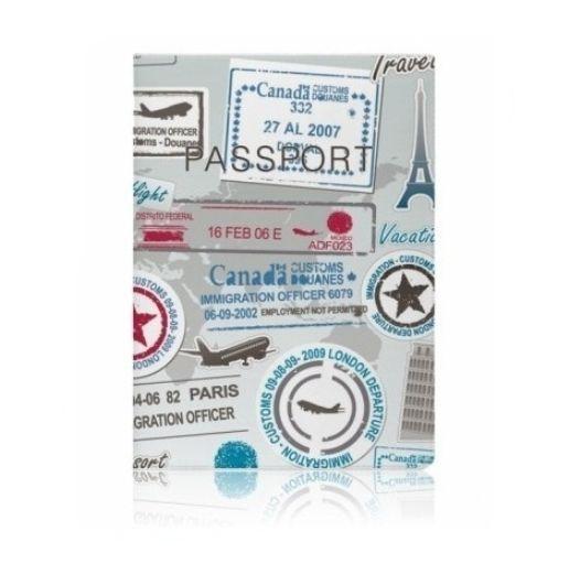 """Обложка для паспорта Miusli """"Stamps"""""""
