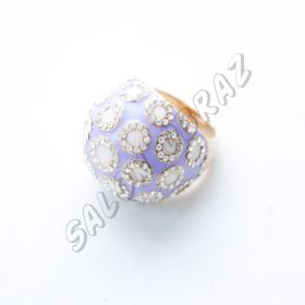 Кольцо с кристаллами Swarovski КО-045