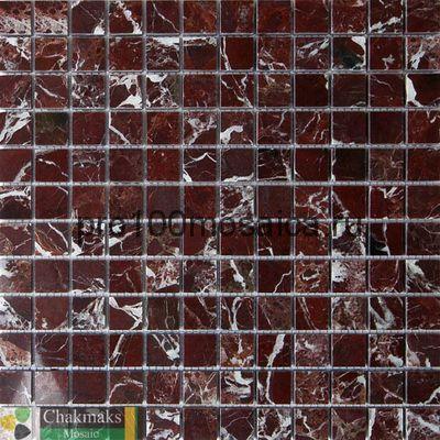 ROSSO LEVANTO 23х23. Мозаика Anatolian Stone, 305*305 мм (CHAKMAKS)