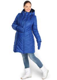 """Куртка 3в1 зимн. """"Флорида"""" голубая для беременных и слингоношения"""