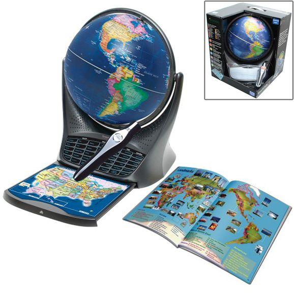 Глобус интерактивный
