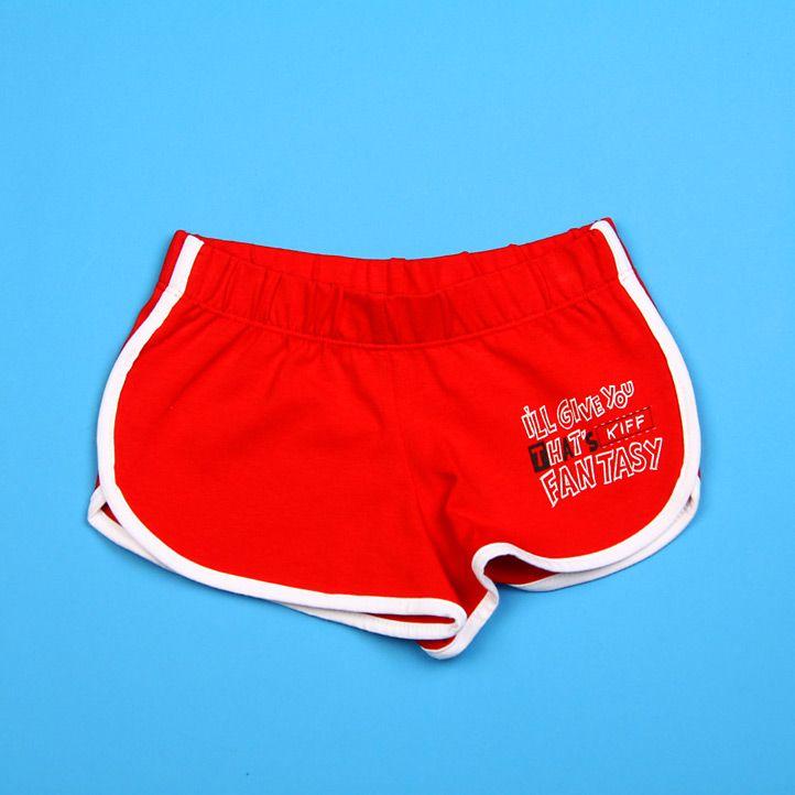 Детские красные шорты Kiff