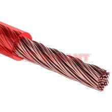 """Кабель силовой """"Power Cable"""" 1х16мм², красный, 50м., d 8,5 мм. REXANT"""
