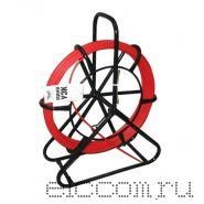 "Устройство протяжки кабеля ""Мини УЗК"" в стойке на вращающемся барабане 190 метров"