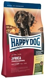 HAPPY DOG Африка Supreme sensible (страус и картофель)