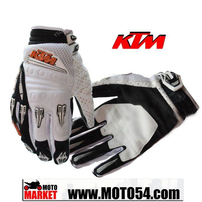 Мотоперчатки KTM (черно-белый)