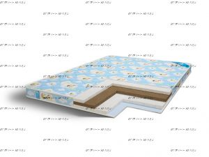 Матрас Baby Hollo Puff Comfort Line (9)
