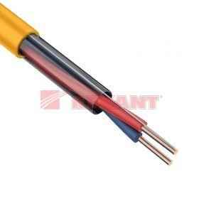 Кабель сигнальный КПСнг(А)-FRHF 1х2х0,5мм² (0,75мм) 200М ГОСТ Р 53315-2009 REXANT