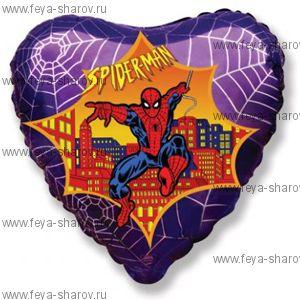 Шар фольгированный Человек-паук 46 см