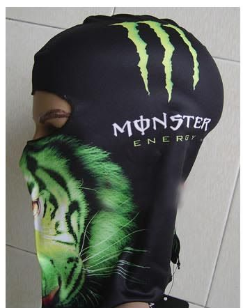 Подшлемник Monster Energy Leon m-012-1