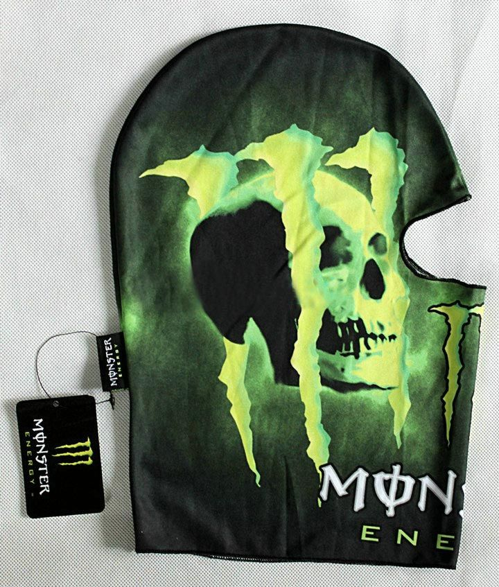 Подшлемник Monster Energy Skull