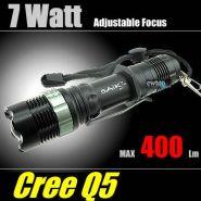 Светодиодный регулируемый фонарь CREE 7w Q5