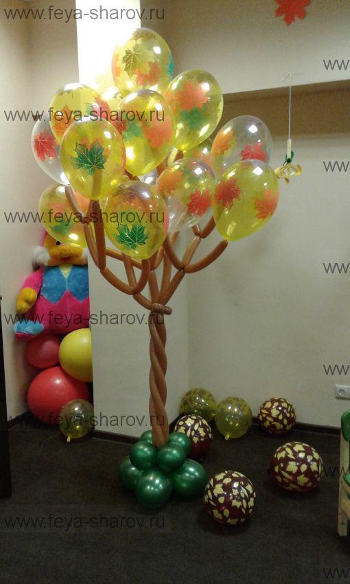 Дерево из шаров